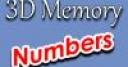 Jeu 3D Memory: Numbers