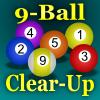 Jeu 9-Ball Clear-Up (Pool) en plein ecran