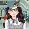 Jeu Airline Stewardess Styling en plein ecran