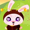 Jeu Baby Rabbit Dressup en plein ecran