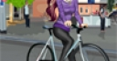 Jeu Bicyclist Girl