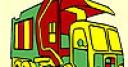 Jeu Big street truck coloring