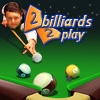 Jeu 2 billiards 2 play en plein ecran