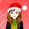Jeu Bliinky Christmas Dressup en plein ecran
