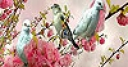 Jeu Blue birds  on the branch slide puzzle