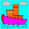 boat coloring