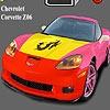 Jeu Chevrolet Corvette Z06 Coloring en plein ecran