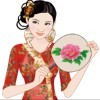Chinese Cheongsam Beauty