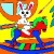 Christmas Bunny 1 – Rossy Coloring Games