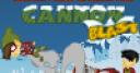 Jeu Christmas Cannon Blast