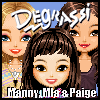 Manny, Mia & Paige Dressup