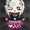 Jeu Dressup Emo/Punk Chibi en plein ecran