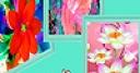 Jeu Fantasy colorful flowers puzzle