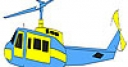 Jeu Fast helicopter coloring