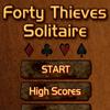 Jeu Forty Thieves Solitaire en plein ecran