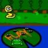 Jeu Frogs 'N Snakes en plein ecran