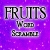Fruits Word Scramble