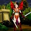 Jeu Girl Power Warrior Dress Up en plein ecran