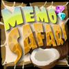 Jeu Memo Safari en plein ecran