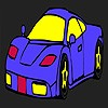 Modern style car coloring