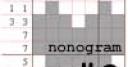 Jeu Nonogram #3