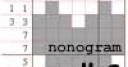 Jeu Nonogram #6 – 15×15