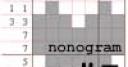 Jeu Nonogram #7 – Super easy