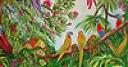 Jeu Parrots in the jungle slide puzzle