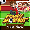 Jeu Penalty Shootout Multiplayer Game en plein ecran