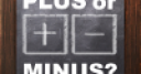 Jeu Plus or minus?