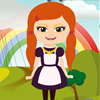 Jeu Rainbow Dress Up en plein ecran