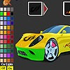 Super car coloring