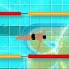 Jeu Swim Race en plein ecran