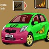 Toyota Yaris Car Coloring
