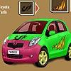 Jeu Toyota Yaris Car Coloring en plein ecran