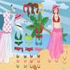 Tropical Girl Dress Up