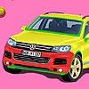 Jeu Volkswagen touareg car en plein ecran