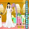 Jeu Wedding Dress Up Bride en plein ecran
