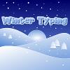 Jeu Winter Typing en plein ecran